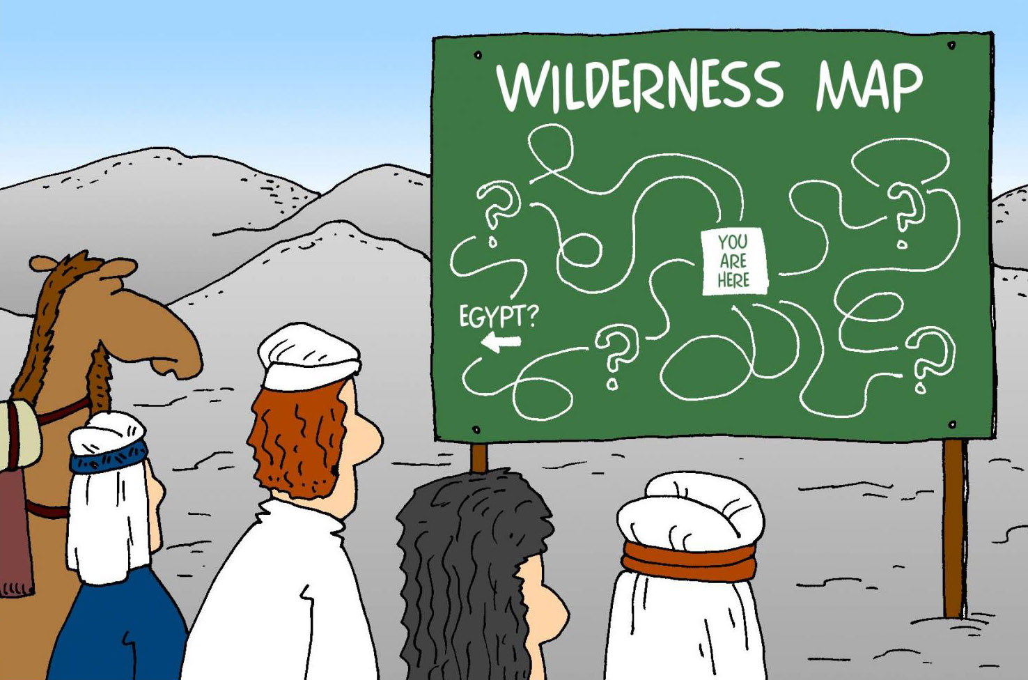 Israel's Wilderness Wanderings Humor