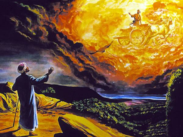 Elijah Taken Up To Heaven Photo Credit: http://myyearofjubilee50.blogspot.com/2011/06/chariot-of-fire.html