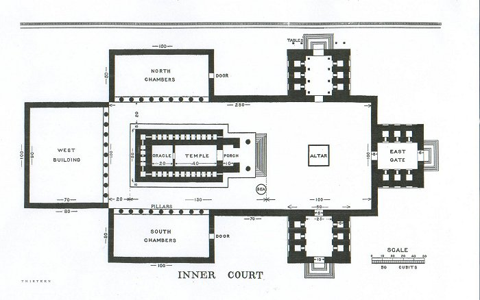 Floor Plan of Solomon's TemplePhoto Credit: http://www.phoenixmasonry.org/king_solomons_temple/page_13.htm